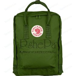 Рюкзак городской Fjallraven Kanken Leaf Green-Burr